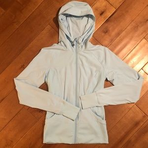 LULULEMON In Flux Reversible Hoodie Jacket Size 6